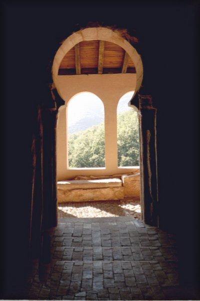 Portal in San Millán de Suso