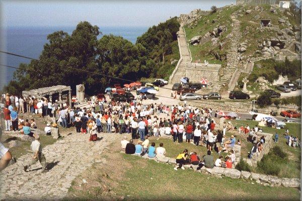 Auktion am Monte Santa Tecla