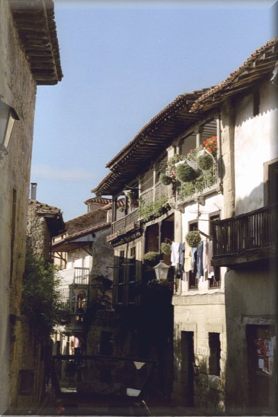 Straße in Santillana del Mar
